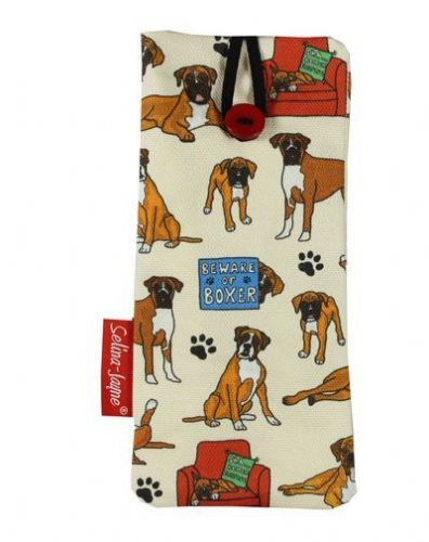 Selina-Jayne Boxer Dog Limited Edition Designer Soft Glasses Case